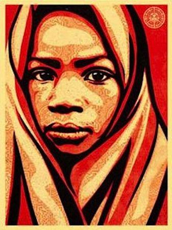 Sérigraphie Fairey - L.E.A.D. Uganda (Blanket)
