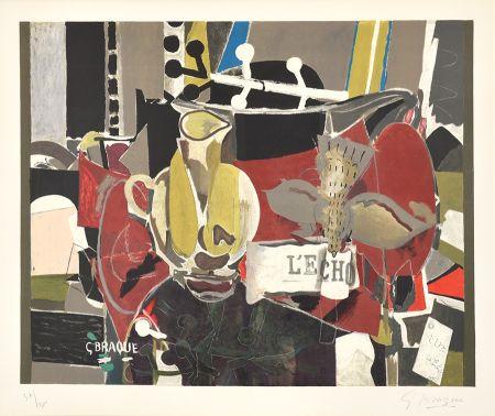 Lithographie Braque - L'Echo (The Echo)