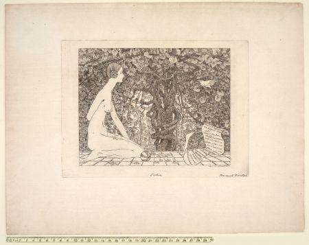 Eau-Forte Disertori - L'EDERA (1911-13)