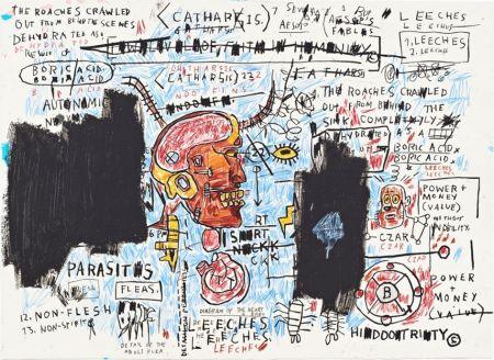 Sérigraphie Basquiat - Leeches