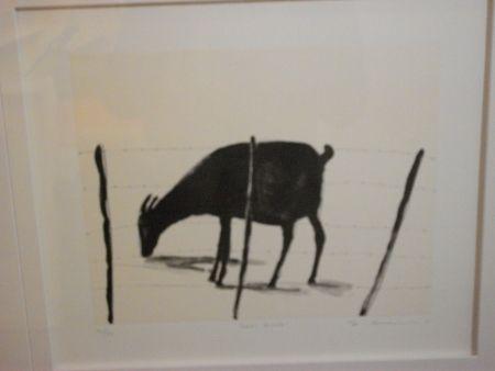 Lithographie Nhlengethwa - Left Alone