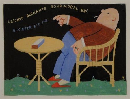 Monotype Stöcklin - LEICHTE ELEGANTE ROHRMÖBEL BEI G.KIEFER & CO. A.G