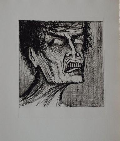 Lithographie Buffet - L'enfer de Dante / Angélo