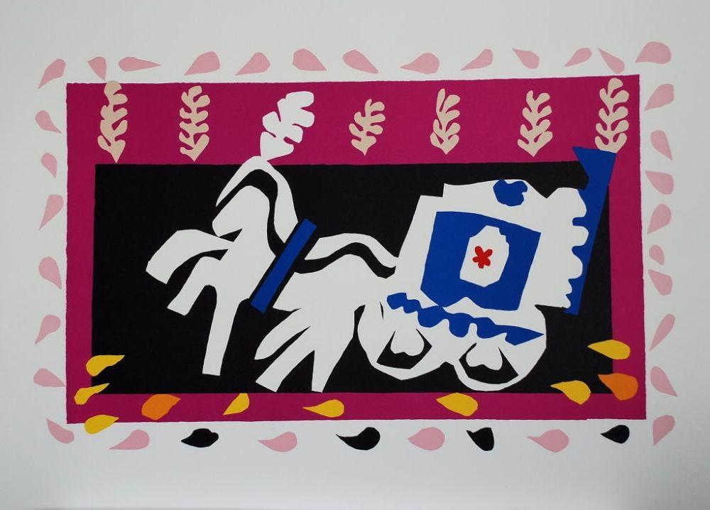 Collographie Matisse - L'Enterrement de Pierrot (Pierrot's Funeral)