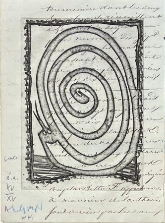Gravure Alechinsky - Lento