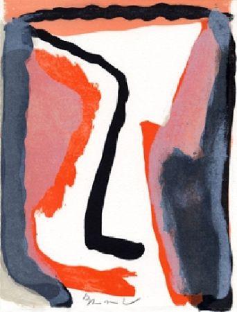 Livre Illustré Van Velde - L'envers, Jean Frémon