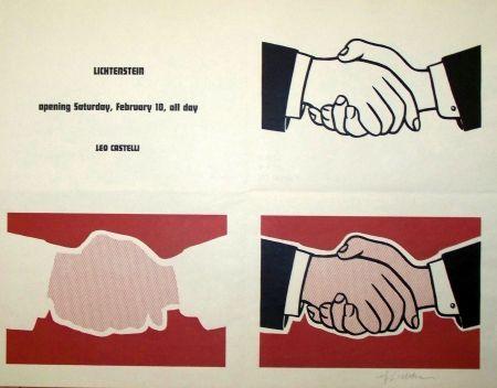 Sérigraphie Lichtenstein - Leo castelli exposition