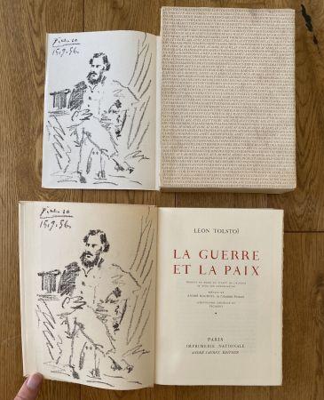 Lithographie Picasso - Leon Tolstoi