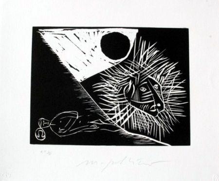Linogravure Paladino - Leone