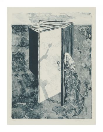 Lithographie Tanning - LES 7 PÉRILS SPECTRAUX (The 7 Spectral Perils) Porfolio. 1950