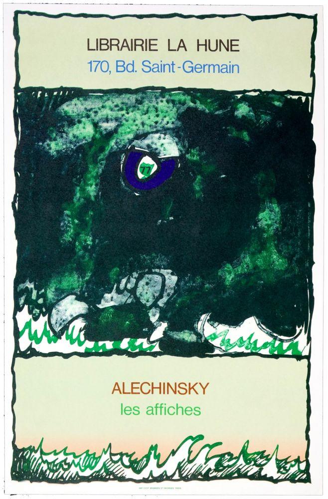 Affiche Alechinsky - Les Affiches, 1977