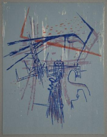 Lithographie Lam - Les affinités ambigües