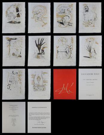 Gravure Dali - Les Amours Jaunes Suite