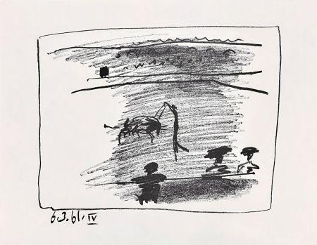 Lithographie Picasso - Les Banderillas