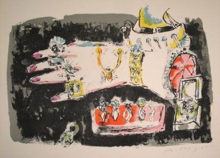 Lithographie Carigiet - Les Bijoux