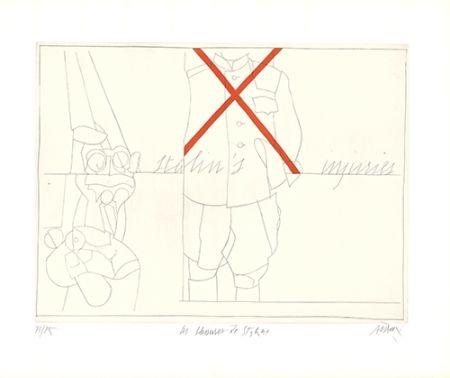 Gravure Adami - Les blessures de Staline / Stalin's Injuries