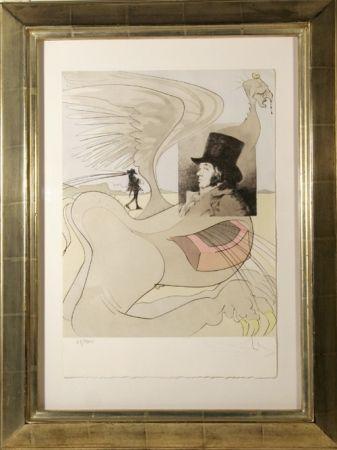 Gravure Dali - Les Caprices de Goya