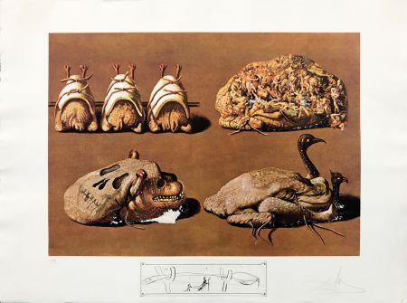 Lithographie Dali - LES CAPRICES PINCES PRINCIERS