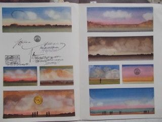 Lithographie Steinberg - Les Cartes Postales