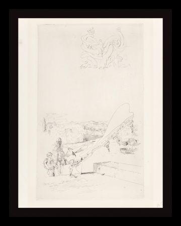 Gravure Dali - Les Chantes de Maldoror Memory of Music