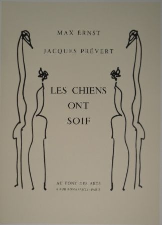 Livre Illustré Ernst - Les Chiens Ont Soif.