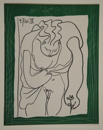 Livre Illustré Picasso - Les déjeuners