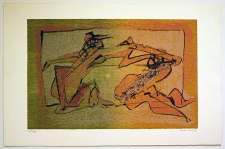 Lithographie Tanning - Les Demeures d´Hypnos