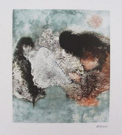 Gravure Bellmer - Les Deux Amies