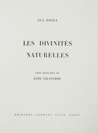 Livre Illustré Graverol - Les divinités naturelles