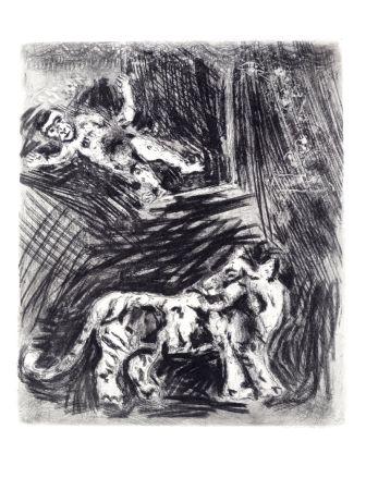 Eau-Forte Chagall - Les Fables De La Fontaine