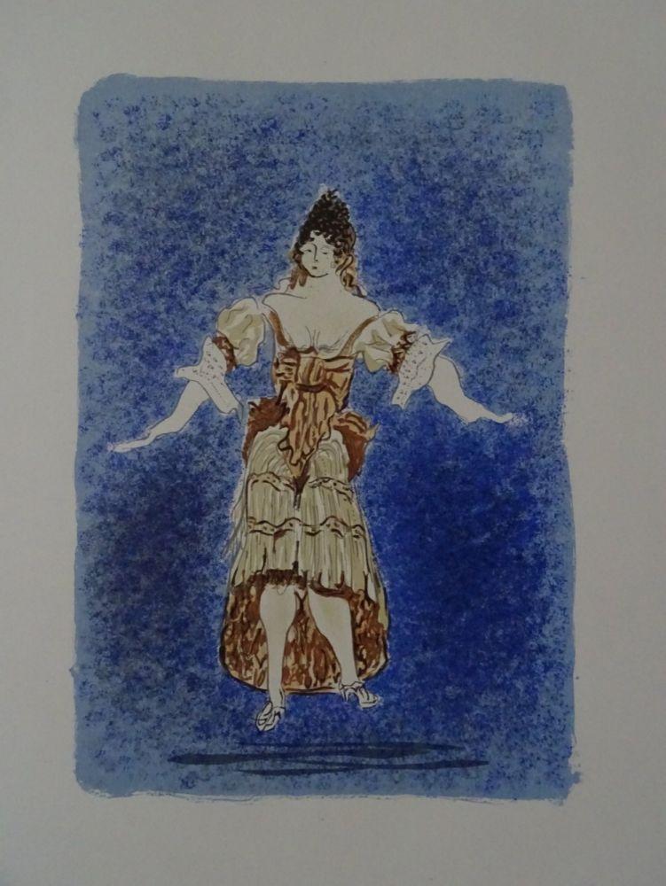 Lithographie Braque - Les Facheux