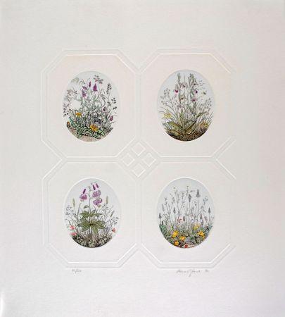 Eau-Forte Hauck - Les Fleurs - Flowers