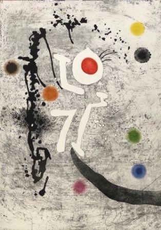 Eau-Forte Et Aquatinte Miró - Les Formigues