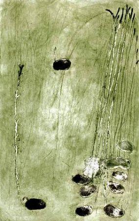 Gravure Barcelo - Les germes