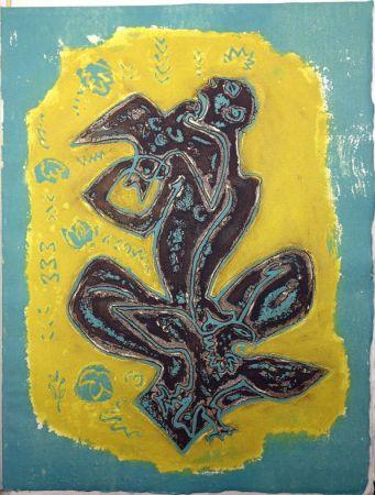 Livre Illustré Masson - LES HAIN-TENY. 16 eaux-fortes et reliefs en couleurs.