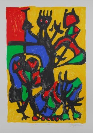 Lithographie Ionesco - Les hauts danseurs