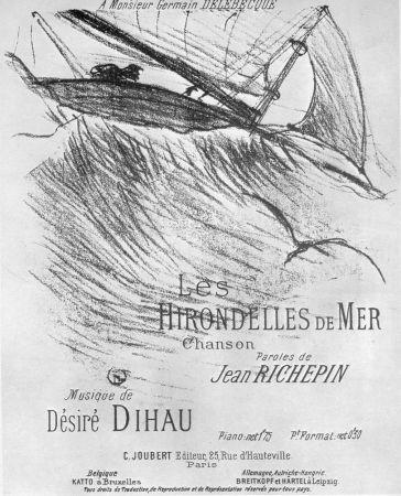 Lithographie Toulouse-Lautrec - Les Hirondelles de Mer