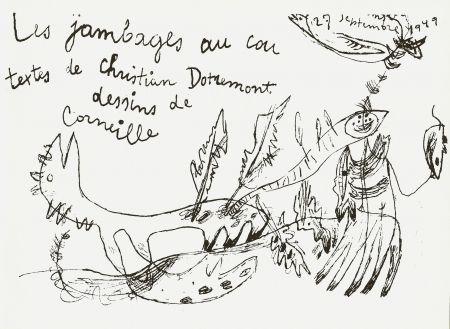 Livre Illustré Corneille - Les jambages au cou - Dotremont