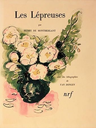 Livre Illustré Van Dongen - Les lépreuses
