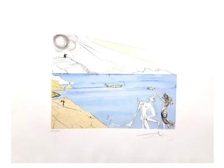 Lithographie Dali - Les Lauriers du Bonheur