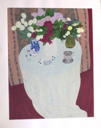Sérigraphie Boncompain - Les lilas du jardin