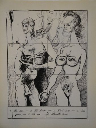 Livre Illustré Dali - Les métamorphoses érotiques.