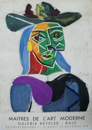 Lithographie Picasso - Les Maîtres de l'Art Moderne