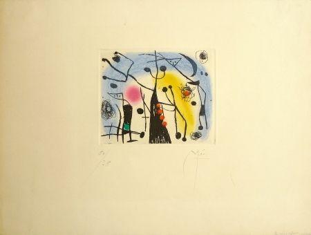 Eau-Forte Et Aquatinte Miró - Les Magdaleniens