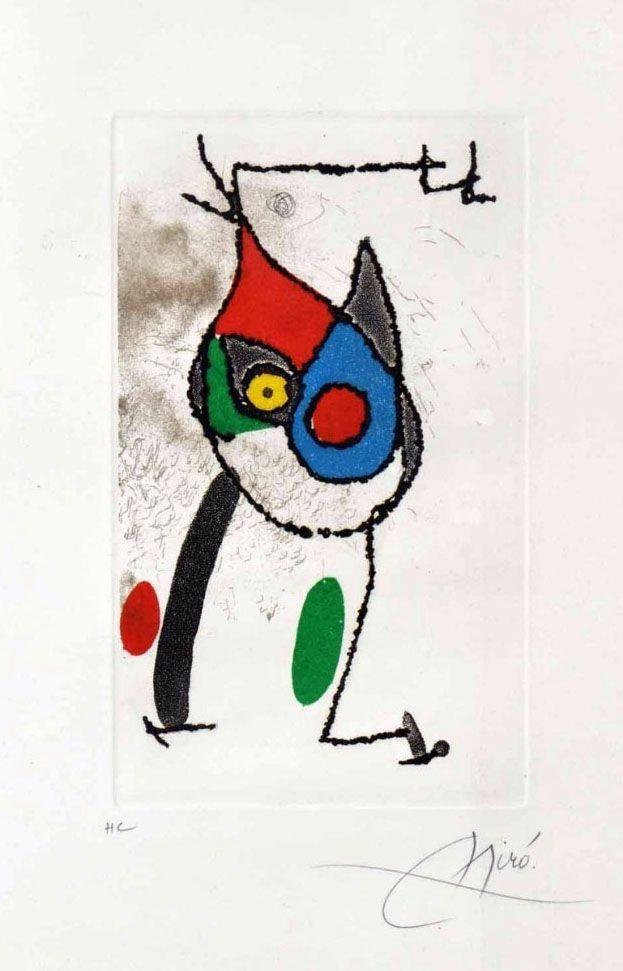 Gravure Miró - Les Magies