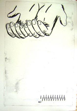 Gravure Cucchi - Les Mains