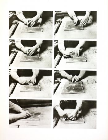 Photographie Alechinsky - Les mains de Jorn