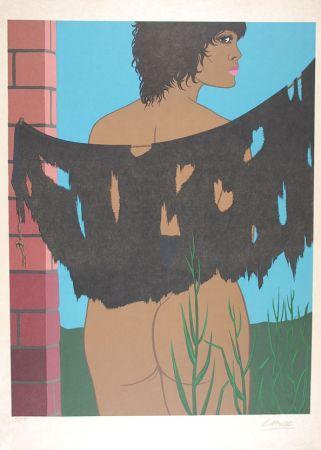 Lithographie Labisse - Les malheurs de la fille prodigue