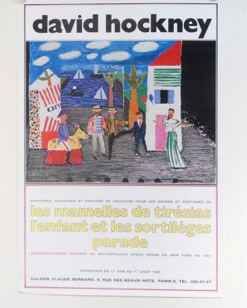 Offset Hockney - Les Mamelles De Tiresias L'enfant Et Les Sortileges Parade