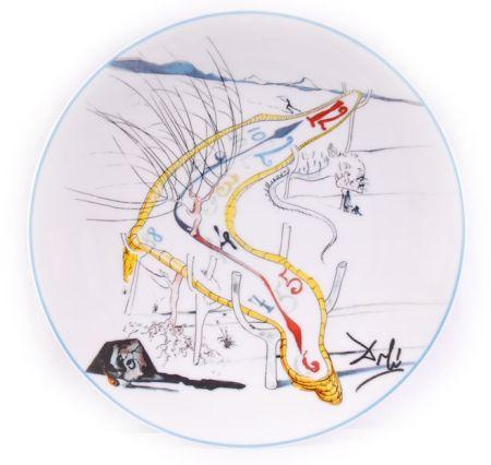 Céramique Dali - Les Montres Gélatines de l'espace temps (La Conquête du Cosmos)